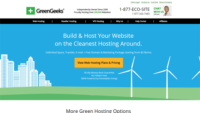 greengeeks-screenshot