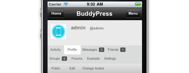 buddypress-mobile