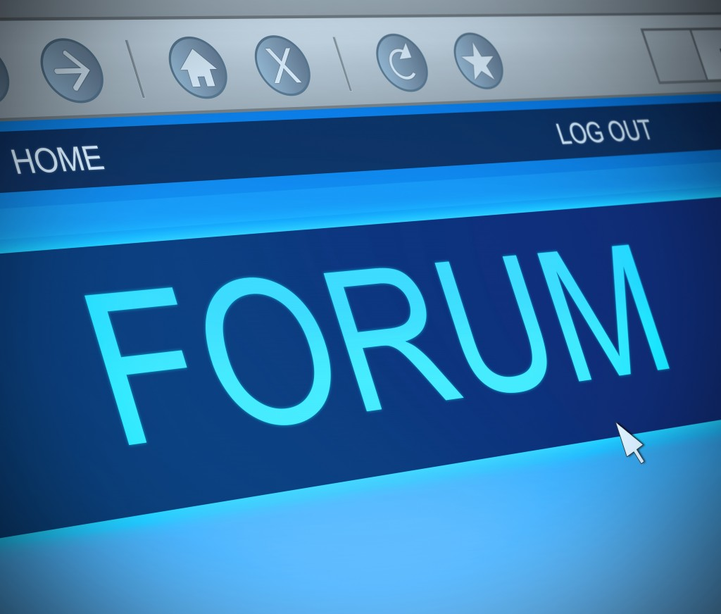 create a forum