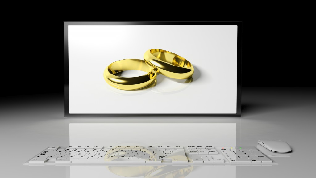 make a wedding website