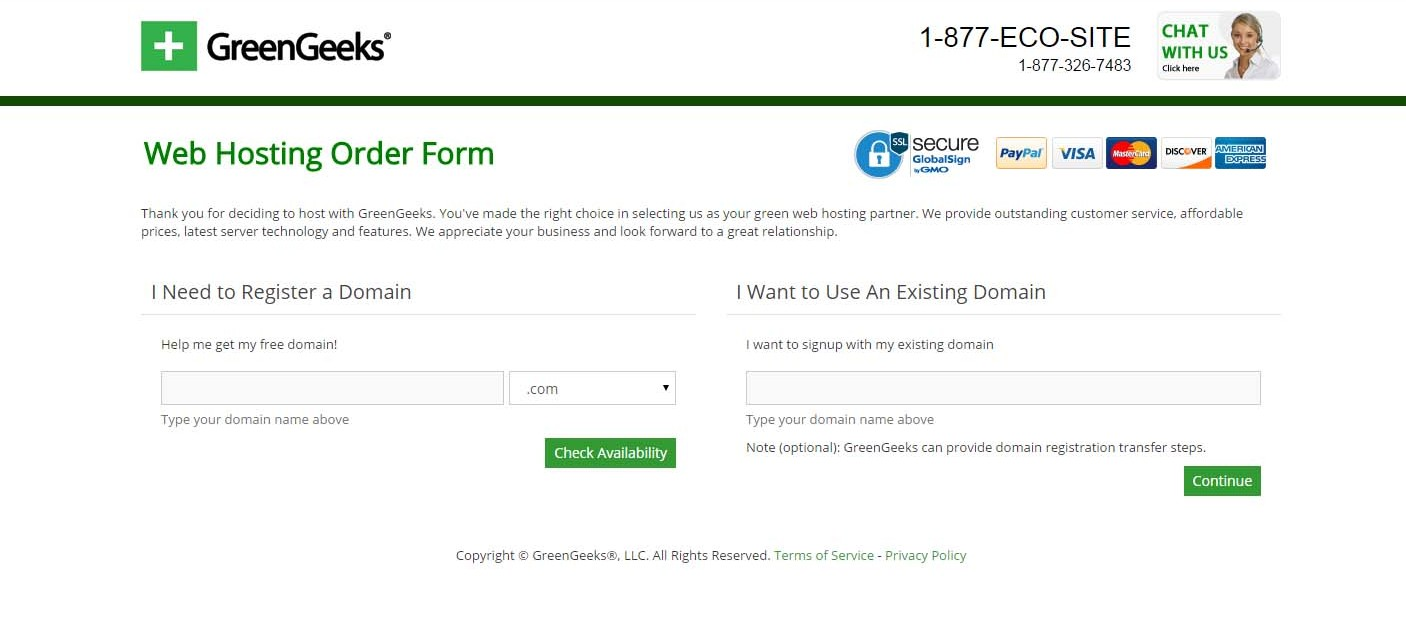 greengeeks-order-form